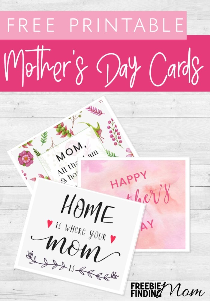 photo about Happy Mothers Day Printable Cards referred to as Totally free Moms Working day Printable Playing cards