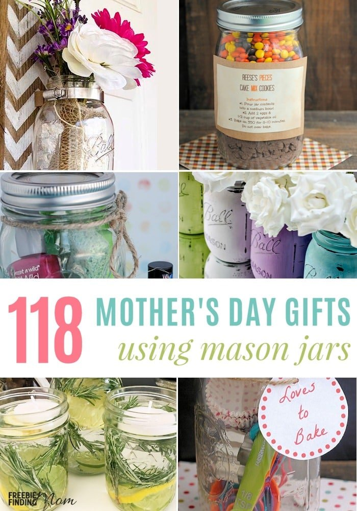 Mother S Day Jar Ideas 118 Frugal Mother S Day Gifts Using Mason Jars