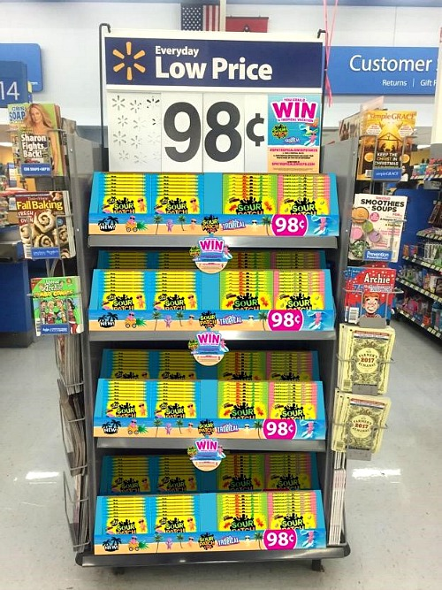 Save on Sour Patch Kids at Walmart