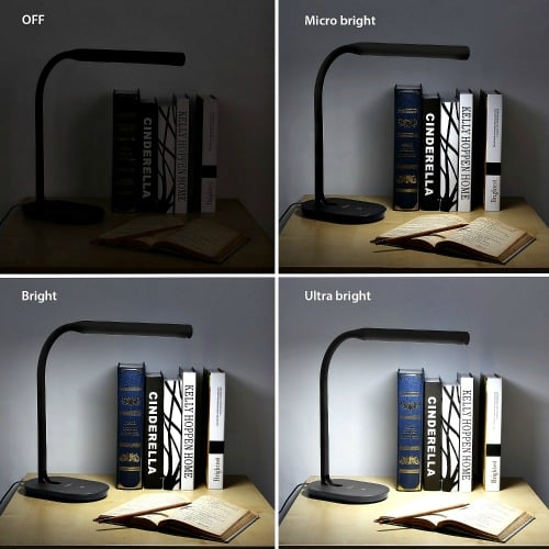 Aglaia Desk Lamp has 3 levels of brightness