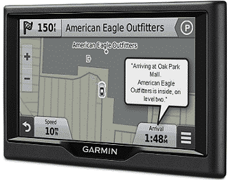 Garmin Nuvi GPS Navigator System