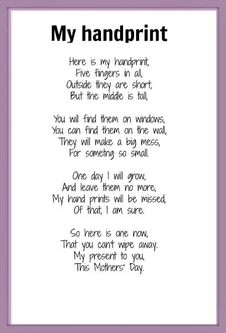 Poem About Mothers Day
