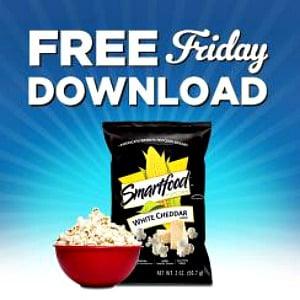 Kroger free Friday download for Smartfood® Popcorn