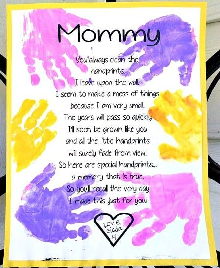 Resource image regarding printable mothers day poems