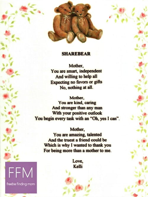 homemade mother s day ideas 15 poems and quotes gifts