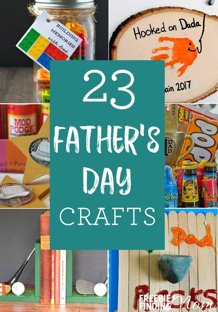 Do you need craft ideas for Father's Day that will knock the socks off Dad? Look no further than this list of 23 Crafts For Father's Day. These homemade (or semi-homemade) heartfelt gifts fit a variety of skill levels from toddlers or young kids to adults and they are guaranteed to show Dad how much you love him and make him feel super special.