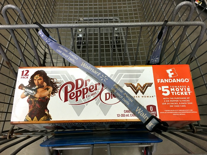 Get your Wonder Woman Dr. Pepper at Walmart... while you still can