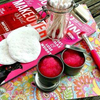 Raspberry Lip Scrub Recipe