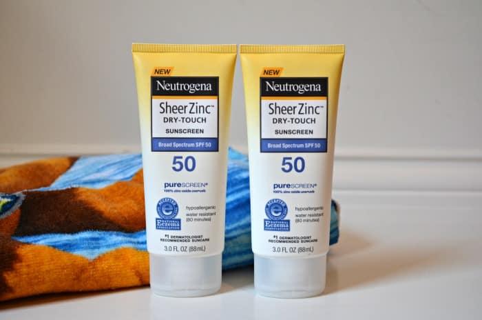 Neutrogena Sheer Zinc Dry-Touch Sunscreens SPF 50