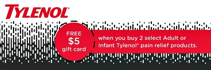 Tylenol savings deal at Target