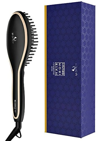 USpicy Hair Straightener Brush