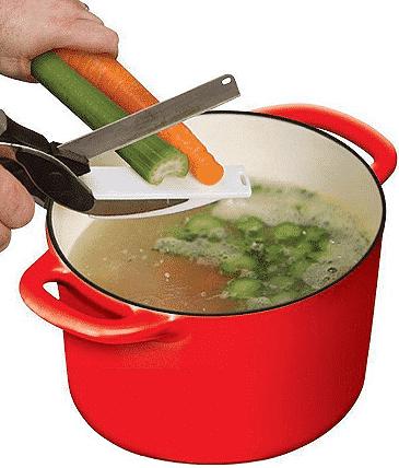 Fruit Vegetable Kitchen Cutting Scissors
