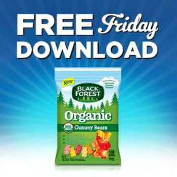 Kroger free Friday download for Black Forest Organic Candy