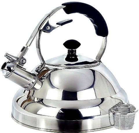 2.75-Quart Tea Kettle Whistling Stove Top Kettle Teapot