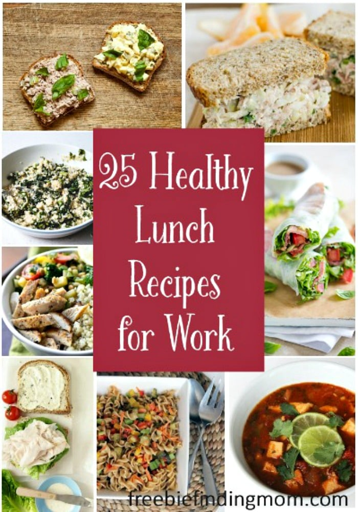 Healthy Lunch Recipes For Work