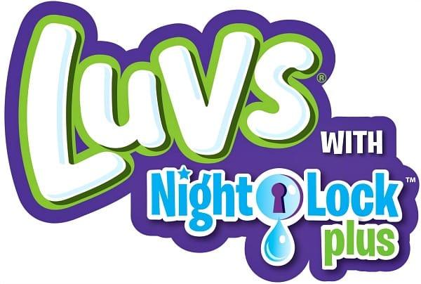 Luvs Ultra Leakguards with NightLock Plus™