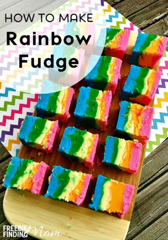 How to Make Rainbow Fudge