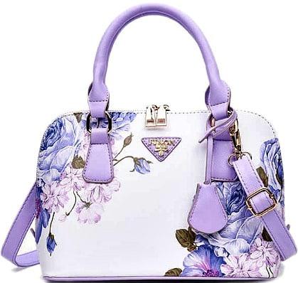 Gamiss.com  Floral Printed Handbag