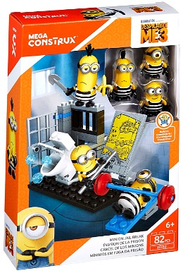 Mega Construx Despicable Me Minion Jail Break Building Set