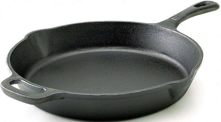 12-Inch T-fal Pre-Seasoned Nonstick Durable Cast Iron Skillet