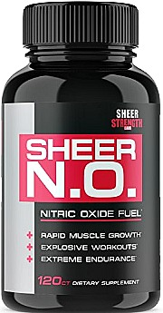 SHEER N.O. Nitric Oxide Supplement – Premium Muscle Building Booster