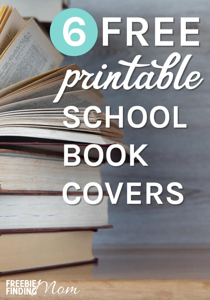 graphic about Printable Book Covers identify 6 Free of charge Printable College E-book Handles