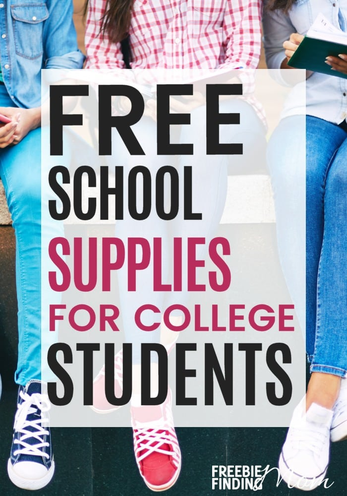 Are college expenses blowing your budget? Here you'll find 7 places to look for Free School Supplies For College Students on everything from paper and pencils to textbooks. These resources show you how to get free school supplies online and offline. You can snag these freebies either in person or receive free school supplies by mail.