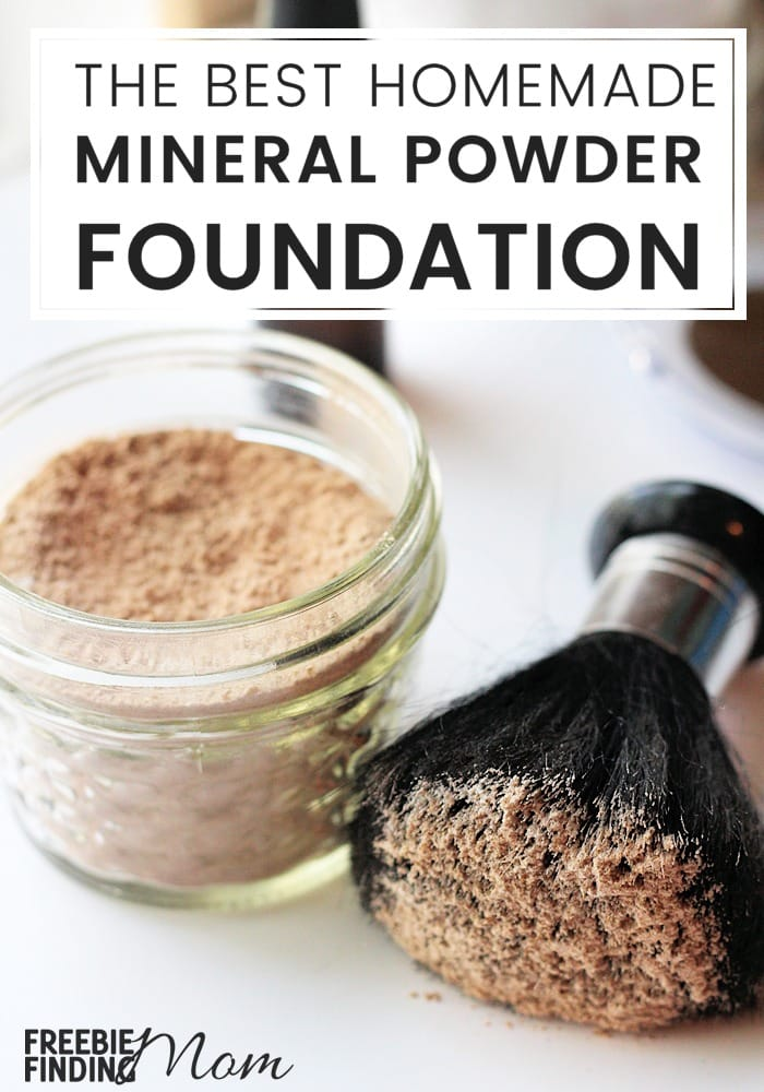 Are you tired of buying expensive makeup that is loaded with chemicals that clog your pores? Try homemade mineral makeup recipes like this recipe for the Best Mineral Powder Foundation. Not only does it provide beautiful coverage for your skin, is inexpensive to make, but it is all natural too. Plus, you can adjust the ingredients to find your perfect shade.