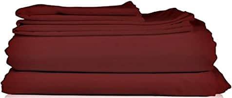 4-Piece Thread Spread Hotel Collection 600 Thread Count Egyptian Cotton Sateen Sheet Set