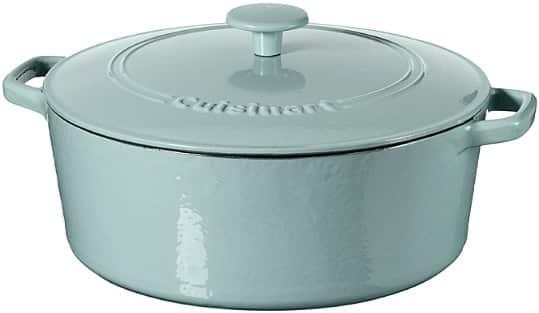 7-Quart Cuisinart Casserole Cast Iron dish