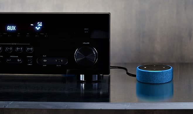 Amazon Echo Dot (2nd Generation) in home