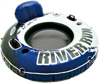 53″ Diameter Intex River Run I Sport Lounge, Inflatable Water Float