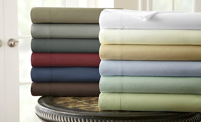 100% Egyptian Cotton 800 Thread Count Sheet Set in various colors