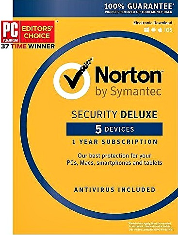 Dragon NaturallySpeaking Home 13.0, English with Norton Security Deluxe- 5 Devices
