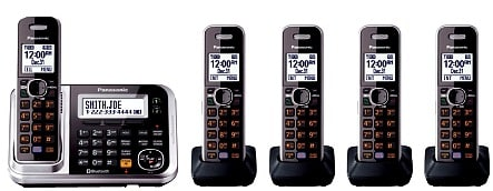 full Panasonic Bluetooth Cordless Phone set
