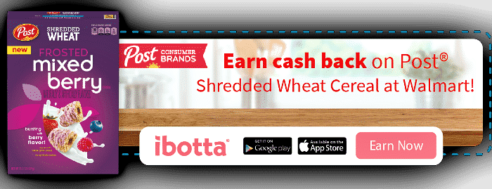 iBotta offer on Shredded Wheat