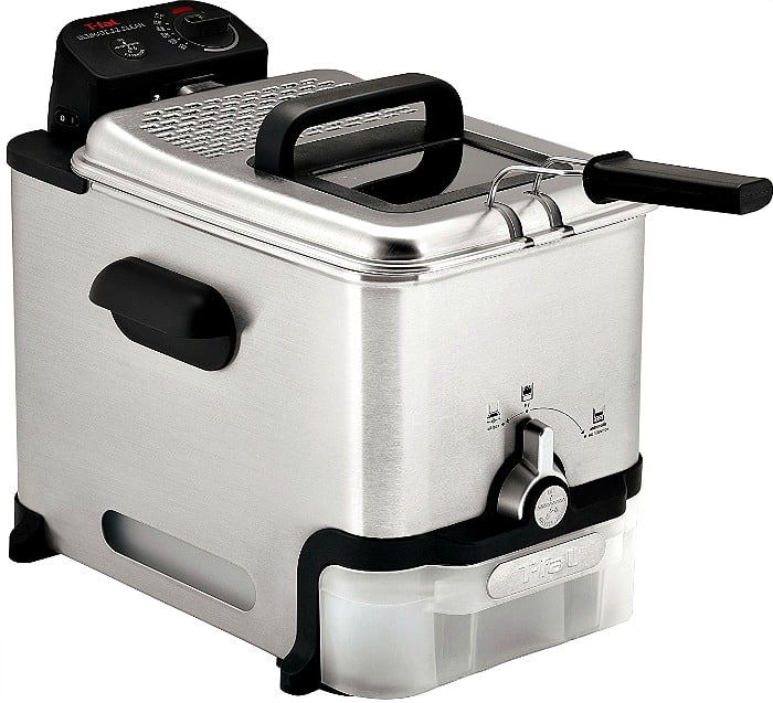 T-fal Fry Basket Stainless Steel Immersion Deep Fryer