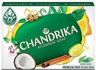 Chandrika Bath and Body Ayurvedic Oval Bar Soap