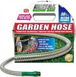 Amazon: 50′ Metal Garden Hose Just $28.99 (Regularly $39.99) – Today Only!