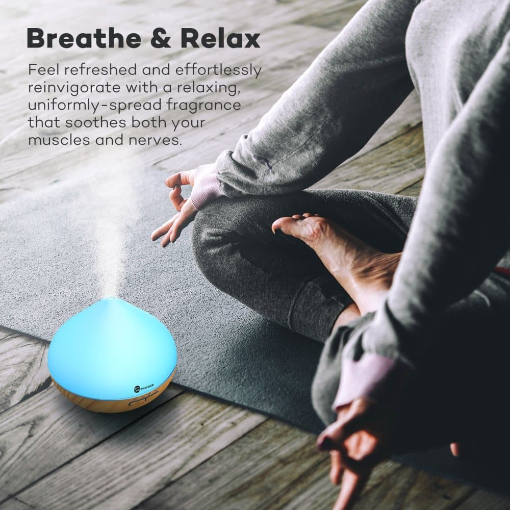 TaoTronics Aromatherapy Diffuser in use