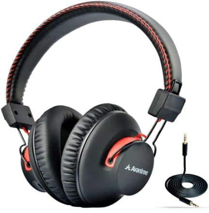 Avantree Wired Bluetooth 4.0 Over-the-Ear Headphones