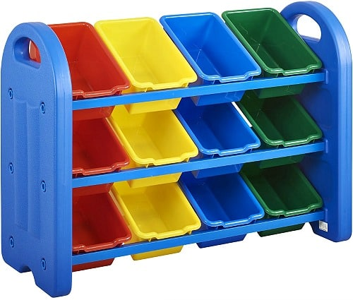 3-Tier ECR4Kids Toy Storage Organizer