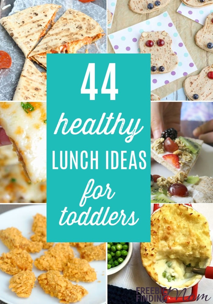 Do you need healthy lunch ideas for toddlers? Here you'll find easy, delicious and nutritious toddler lunch ideas that even your picky eaters will love. These toddler meal ideas aren't just for kids, many of these can be hot and cold lunch ideas for work for moms and dads too.