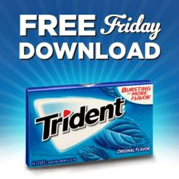 Kroger free Friday download for free Trident Singles Gum