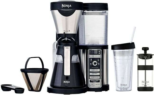 Ninja Coffee Bar Brewer disassembled