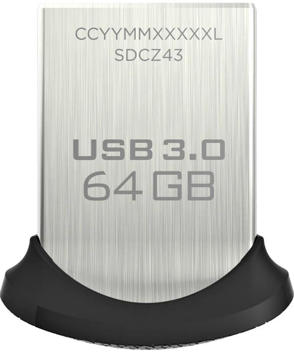 64GB SanDisk Ultra Fit USB Flash Drive