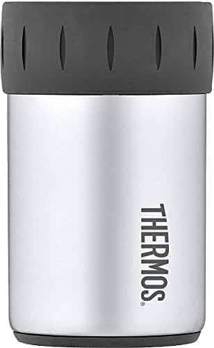 12 Ounce Thermos Stainless Steel Beverage Can Insulator