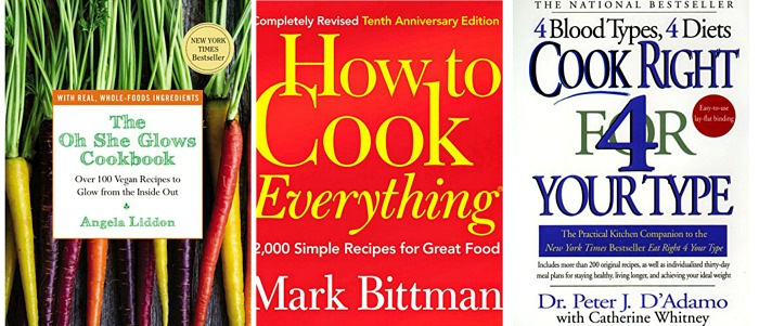 Amazon Kindle ebooks - best selling cookbooks