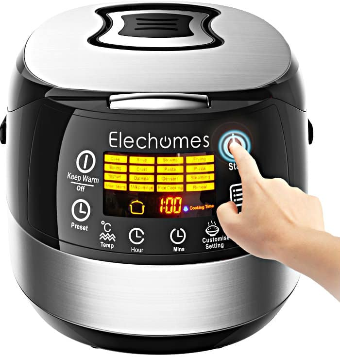 LED Touch Control Electric Rice Cooker