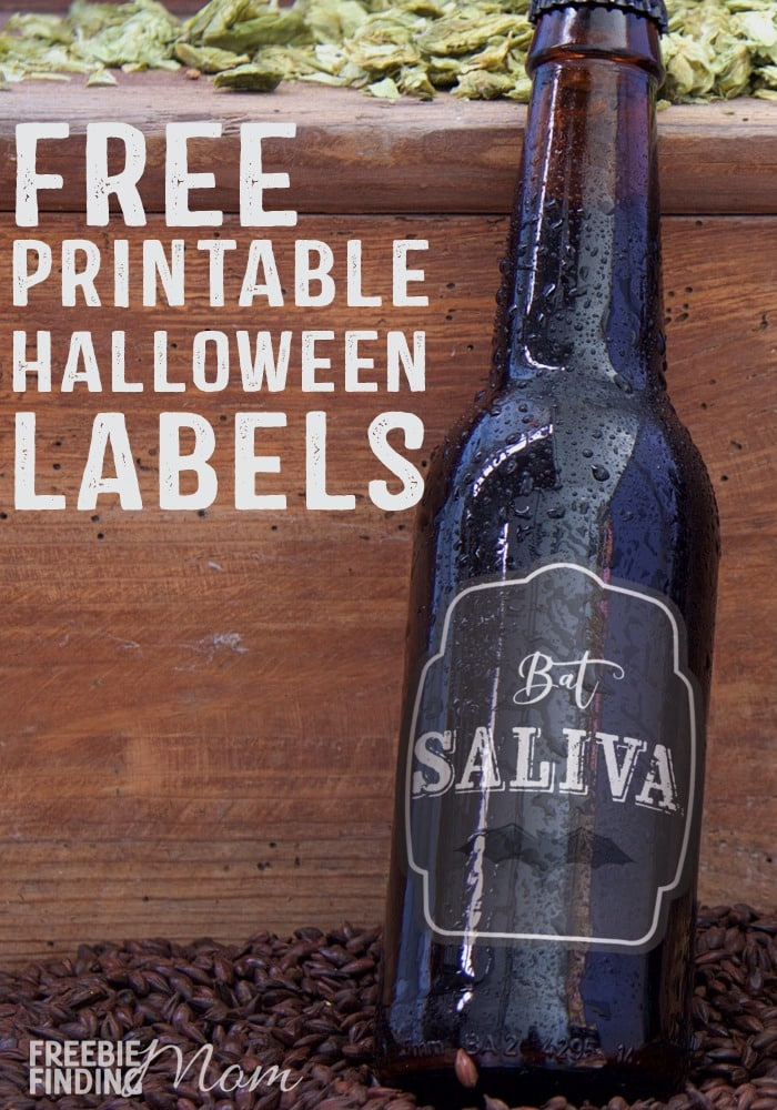 Is your house ready for ghosts and goblins to come trick or treating? You can instantly turn your home into a haunted house by using free printable Halloween decorations like these free printable Halloween bottle labels. Simply affix these labels to washed out beer bottles, oil bottles or just about any other emptied out container, fill with water then display as a creepy Halloween centerpiece.
